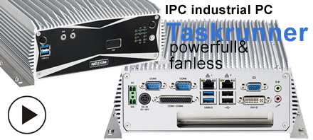 Taskrunner fanless, Intel® Core i5 / i7