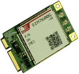 VS-7600 4G PCI Express Mini Card, Worldwide use