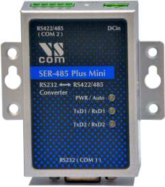 VScom SER-485 Mini, a converter from RS232 to RS422/485 on terminal block