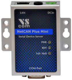 Vscom NetCAN+ (Plus) 110 Mini, a small CAN Bus Gateway for Ethernet/WLAN/Internet