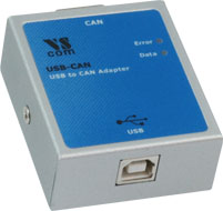 Vscom USB-CAN, a CAN Bus adapter for USB port