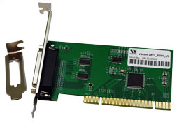 VScom 200H v4 UPCI, a 2 Port RS232 PCI card, 16C850 UART