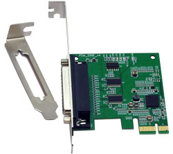 VScom 200E v4 PCIex, a 2 Port RS232 PCI Express x1card, 16C850 UART