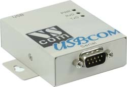 Vscom USB-COM-M, an USB to RS232 serial port converter DB9 connector