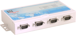 VScom NetCom 411, a 4 port Serial Device Server for Ethernet/TCP to RS232