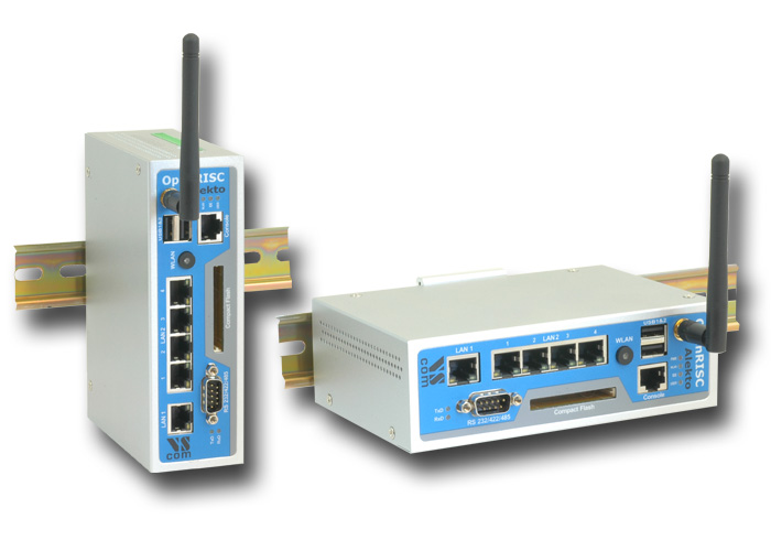 Vision Systems GmbH - released ARM 9 RISC industrial router